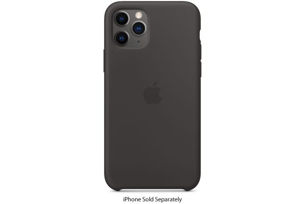 Apple iPhone 11 Pro Black Silicone Case - MWYN2ZM/A