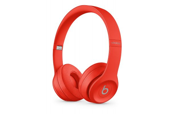 Large image of Beats By Dr. Dre Beats Solo3 Wireless (Product)Red On-Ear Headphones - MX472LL/A