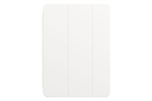 Large image of Apple White Smart Folio for iPad Pro 11-Inch (2nd Generation) - MXT32ZM/A