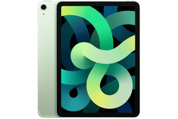 Large image of Apple iPad Air 256GB Wi-Fi + Cellular Green (2020) - MYJ72LL/A