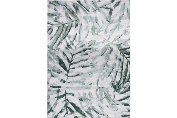 """Large image of Kalora Antika 5'7"""" X 7'10"""" Grey Green Rug - N223/25 170240"""