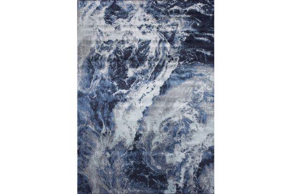 """Large image of Kalora Antika 5'7"""" X 7'10"""" Blue Grey Rug - N246/24 170240"""