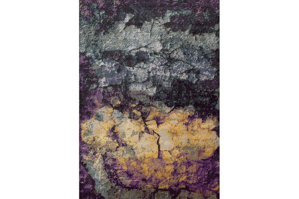 """Large image of Kalora Antika 6'7"""" X 9'10"""" Grey Purple Rug - N427/53 200300"""