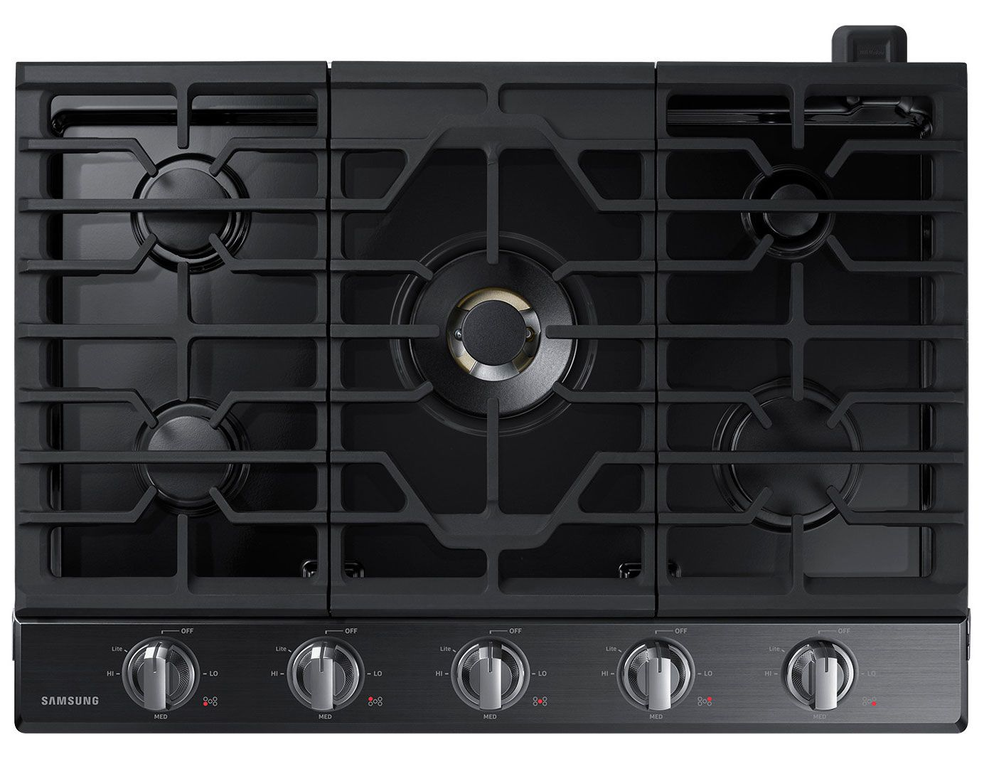 Samsung 30 Black Stainless Steel Gas Cooktop Na30n7755tg