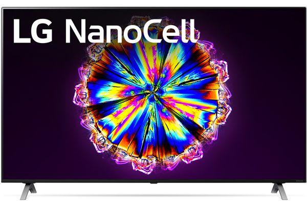 "Large image of LG 65"" NanoCell Black 4K HDR Smart LED TV - 65NANO90UNA"