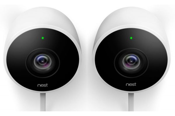 Large image of Google Nest Cam Outdoor Security Camera 2 Pack - NC2400ES