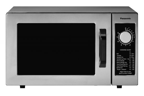 Large image of Panasonic Stainless Steel Commercial Countertop Microwave Oven - NE-1025F