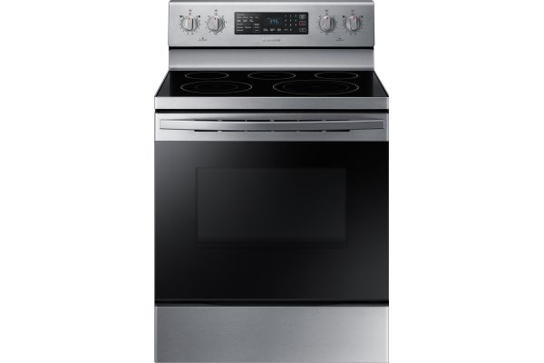 Samsung 5.9 Cu. Ft. Stainless Steel Freestanding Electric Range With Convection - NE59R4321SS/AA