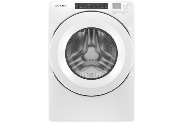 Large image of Amana 4.3 Cu. Ft. White Front Load Washer - NFW5800HW