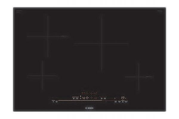 "Large image of Bosch 30"" 800 Series Black Induction Cooktop - NIT8069UC"