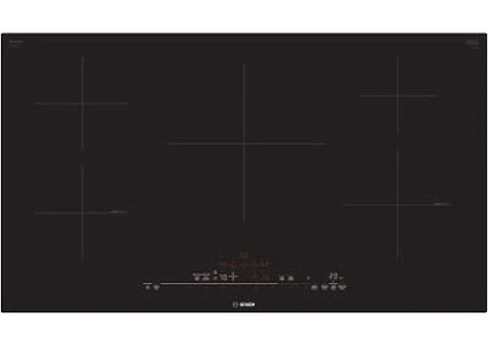 "Bosch 36"" 800 Series Black Induction Cooktop - NIT8669UC"