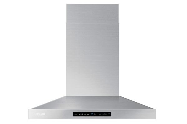 """Large image of Samsung 30"""" Stainless Steel Wall Mount Hood - NK30K7000WS/A2"""