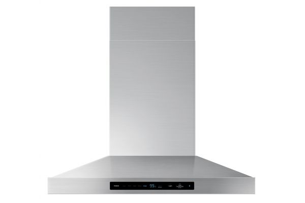 """Samsung Chef Collection 30"""" Stainless Steel Wall Mount Range Hood - NK30M9600WS"""