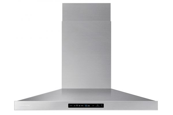 "Large image of Samsung 36"" Stainless Steel Wall Mount Hood - NK36K7000WS/A2"