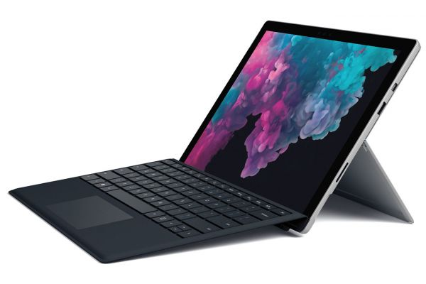 "Microsoft Surface Pro 6 12.3"" 128GB SSD i5 Tablet Computer With Black Surface Pro Type Cover (Platinum) - NKR-00001"