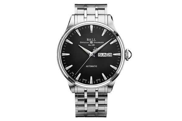 Large image of Ball Trainmaster Eternity Automatic Stainless Steel Mens Watch - NM2080DS1JBK
