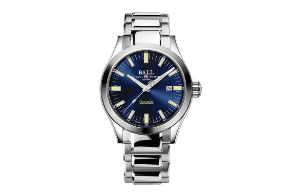 Large image of Ball Engineer M Marvelight Automatic Stainless Steel Mens Watch - NM2128CS1CBE