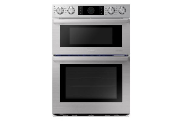 """Samsung Chef Collection 30"""" Stainless Steel Microwave Combination Wall Oven - NQ70M9770DS"""