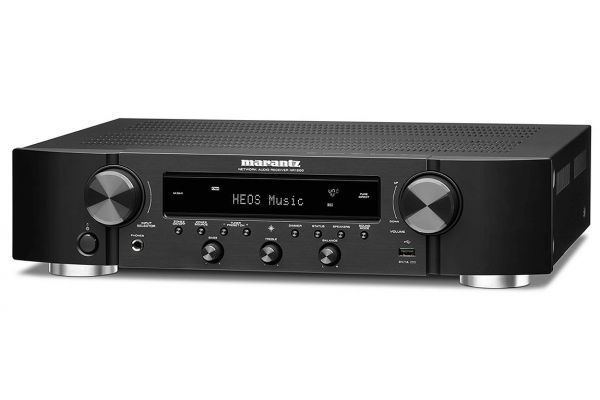 Large image of Marantz 2 Channel Slim Stereo Receiver With HEOS Built-In - NR-1200