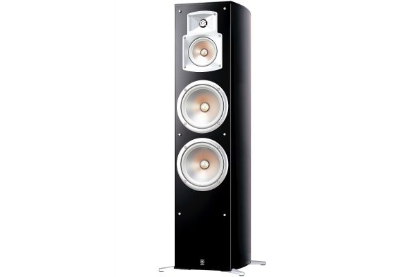 Large image of Yamaha Black Floorstanding Home Theater Speaker (Each) - NS-777
