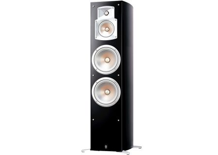 Yamaha Black Floorstanding Home Theater Speaker - NS-777