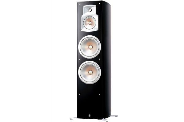 Yamaha Black Floorstanding Home Theater Speaker (Each) - NS-777