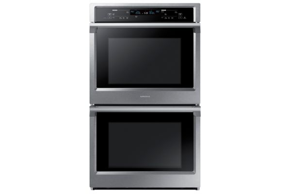 """Large image of Samsung 30"""" Stainless Steel Double Wall Oven - NV51K6650DS/AA"""