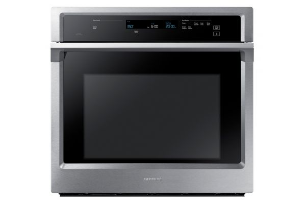 """Samsung 30"""" Stainless Steel Single Wall Oven - NV51K6650SS"""