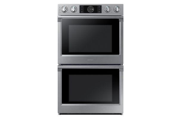 """Large image of Samsung 30"""" Stainless Steel Double Wall Oven - NV51K7770DS/AA"""