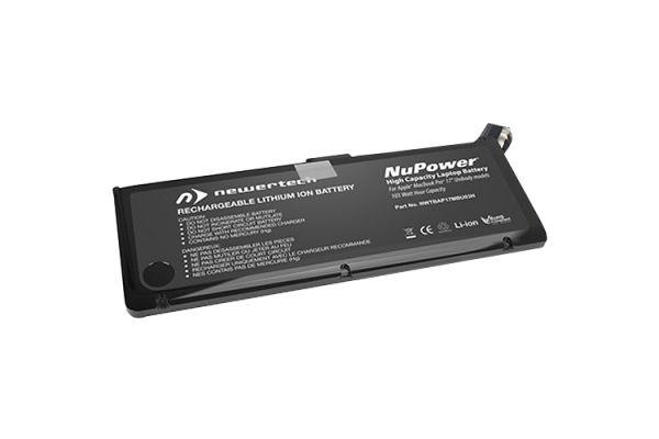 "Large image of NewerTech 103 Watt-Hour NuPower Battery For MacBook Pro 17"" Unibody 2009 & Mid 2010 - NWTBAP17MBU03H"