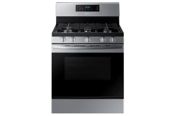 Samsung 5.8 Cu. Ft. Stainless Steel Freestanding Gas Range - NX58R4311SS