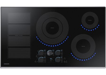 """Samsung 36"""" Stainless Steel Induction Cooktop - NZ36K7880US"""