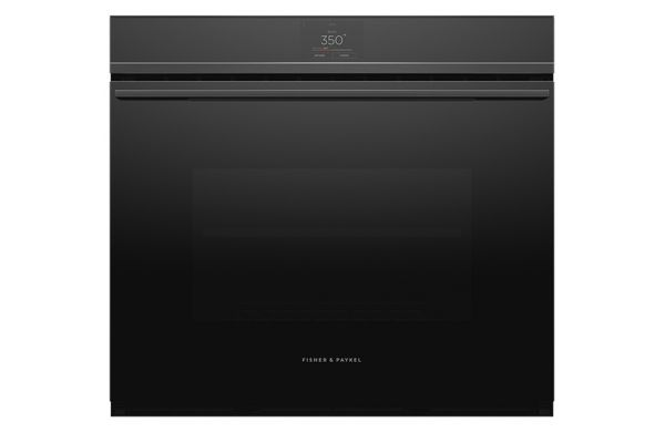 """Large image of Fisher & Paykel 30"""" Black Built-In Single Wall Oven - OB30SDPTB1"""