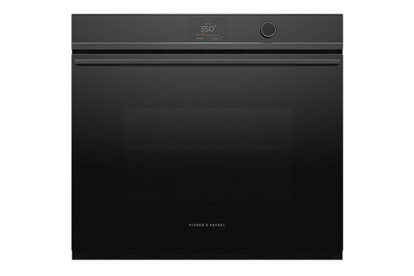 """Large image of Fisher & Paykel 30"""" Black Built-In Single Wall Oven - OB30SDPTDB1"""