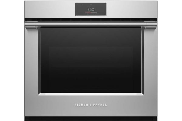 """Large image of Fisher & Paykel 30"""" Stainless Steel Built-In Single Wall Oven - OB30SPPTX1"""
