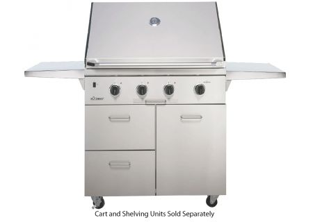 """Dacor Discovery 36"""" Stainless Steel Natural Gas Built-In Outdoor Grill - OB36SS"""