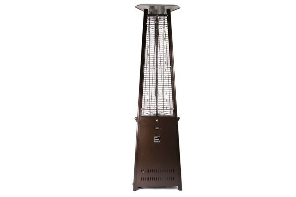 Outdoor Order Prism Bronze Outdoor Tower Heater - ODO-PRISM-R-BR-LP