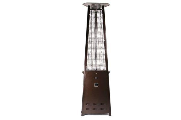 Large image of Outdoor Order Prism Bronze Outdoor Tower Heater - ODO-PRISM-R-BR-LP
