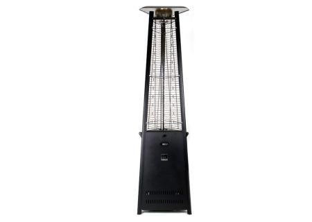 Outdoor Order Prism Carbon Black Outdoor Tower Heater - ODO-PRISM-R-CA-LP