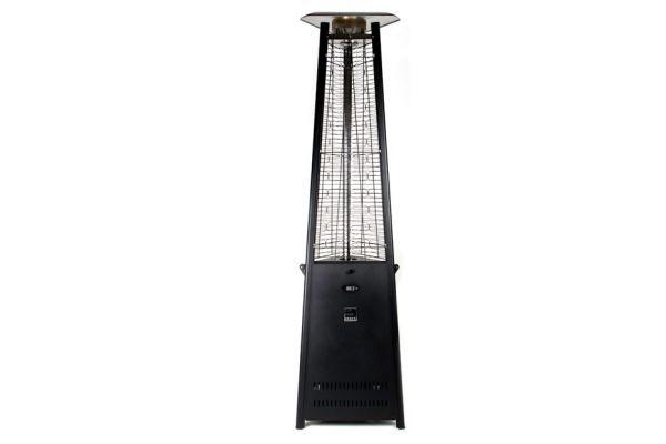 Large image of Outdoor Order Prism Carbon Black Outdoor Tower Heater - ODO-PRISM-R-CA-LP