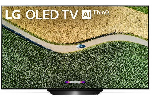 "Large image of LG B9 55"" Class 4K Smart OLED TV With AI ThinQ - OLED55B9PUA"