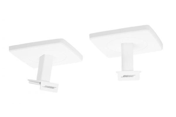 Large image of Bose OmniJewel White Ceiling Brackets (Pair) - 764731-0020