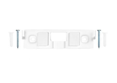 Bose OmniJewel Speaker White Center Channel Wall Brackets - 757658-0020