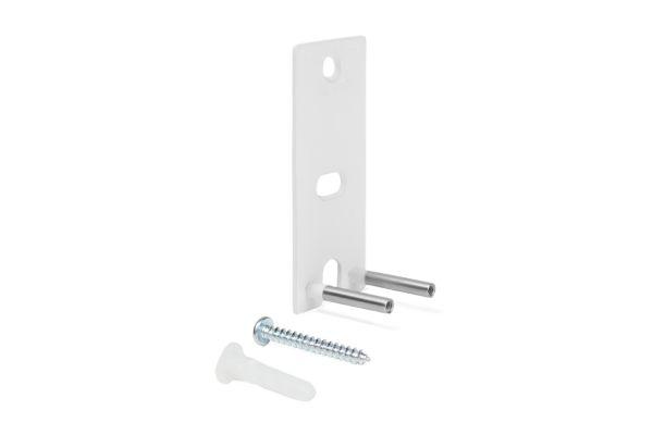 Large image of Bose OmniJewel Speaker White Wall Brackets (Pair) - 752341-0020