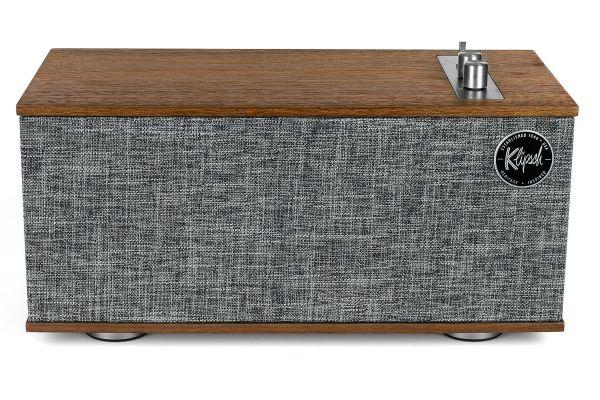 Large image of Klipsch The One II Heritage Series Walnut Wireless Shelf Stereo - 1067554