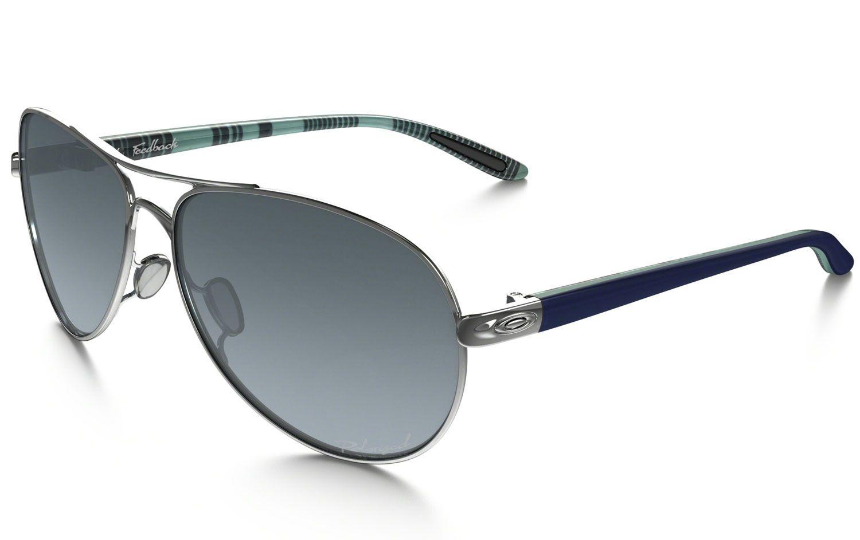 cd589ca2ac Oakley Women s Oo4079 Aviator Sunglasses Ebay