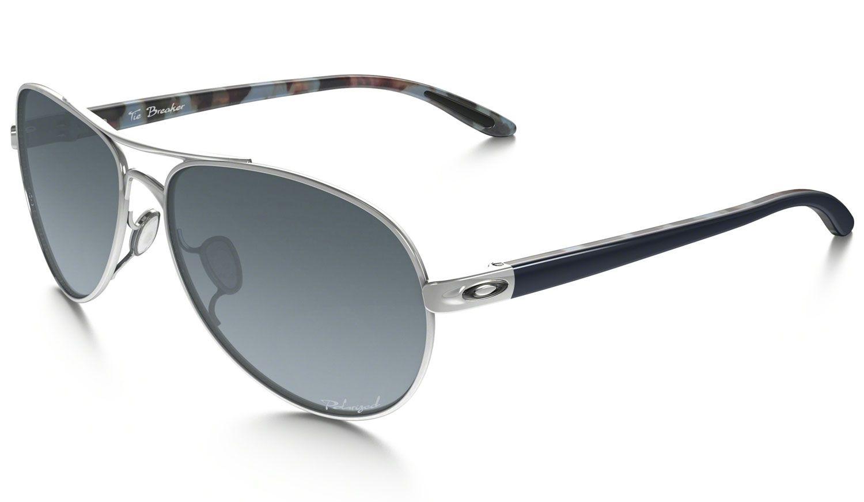 Oakley Tie Breaker Chrome Womens Sunglasses - OO4108-02