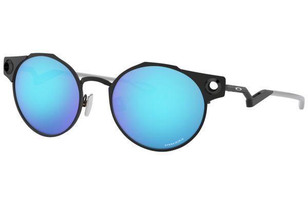 Large image of Oakley Deadbolt Prizm Sapphire Mens Sunglasses - OO60460250