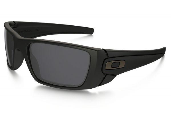Oakley Wrap Polarized Matte Black Mens Sunglasses - OO909605