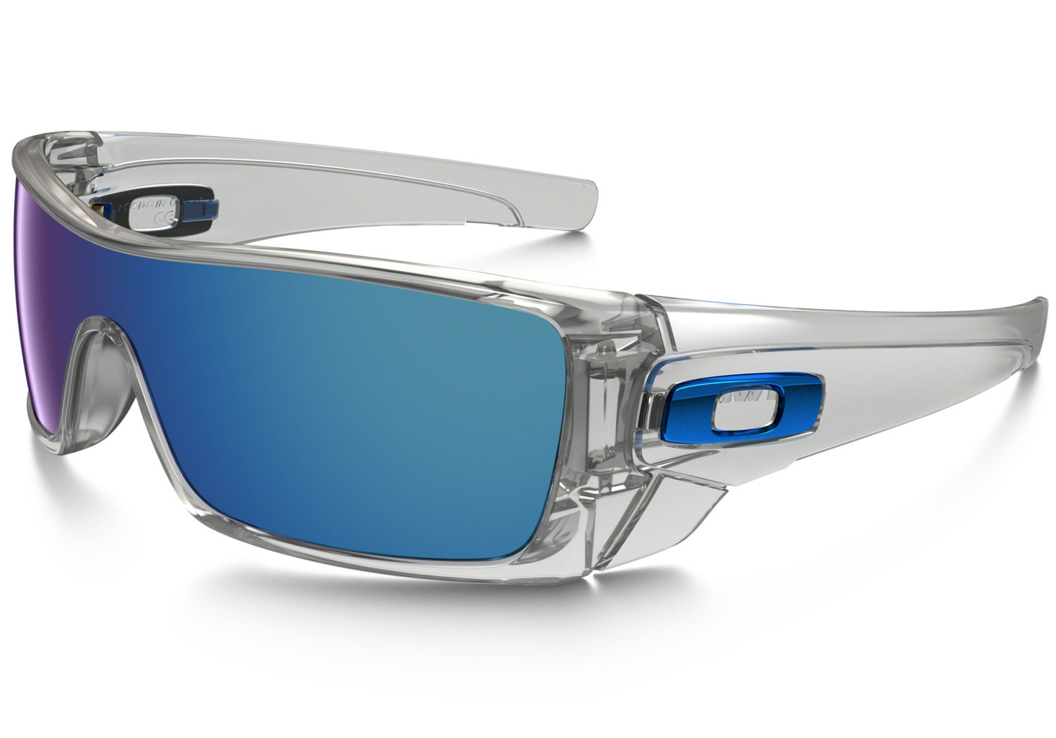 Oakley Ice Iridium Clear Mens Sunglasses